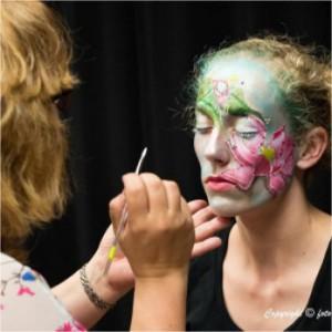 foto facepaint wedstrijd schminken de kindercarrousel
