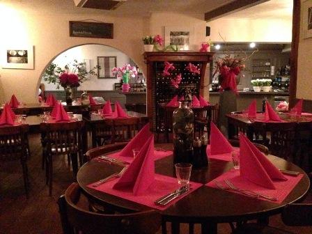 decoratie bruiloft restaurant de kindercarrousel
