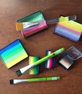 Workshops schminken, zowel de basis als voor gevorderden en one-stroke techniek